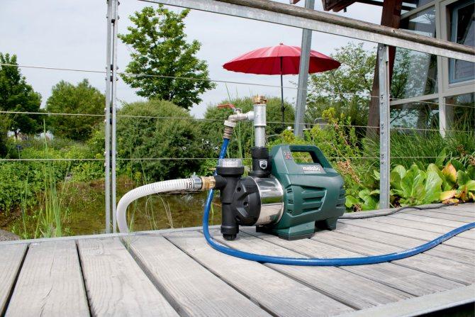 Установка насоса для повышения давления воды: технология монтажа +