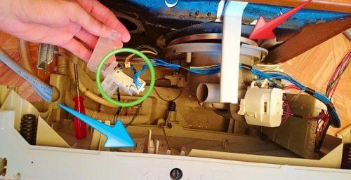 Датчик воды в посудомоечной машине: виды, устройство, неисправности + ремонт - точка j