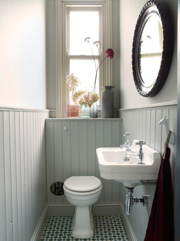 6 идей для дизайна маленького туалета + фото