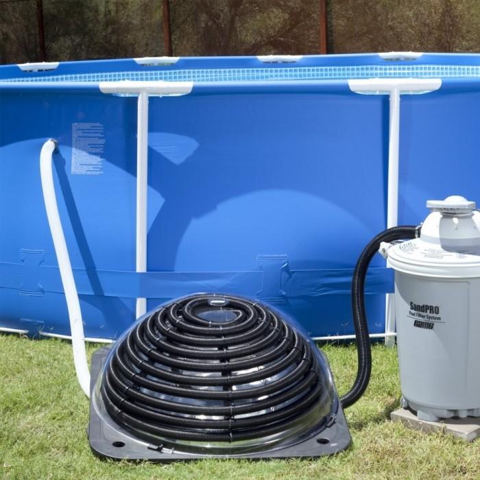 8 способов подогрева бассейна на даче
