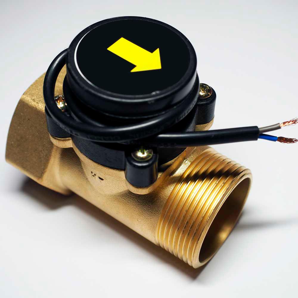 Датчик протока воды для насоса, для газового котла схема, устройство