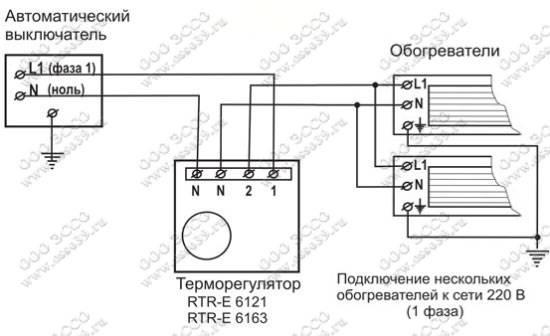 Терморегулятор для инфракрасного обогревателя: принцип действия, обзор цен и подключение к отопительному прибору