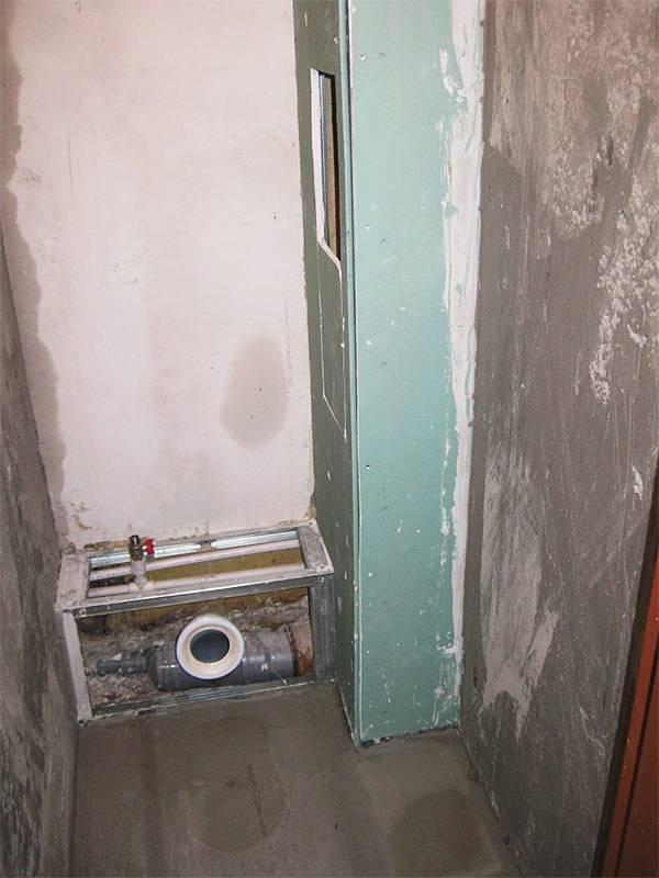 Как закрыть трубы в туалете: короб для канализационных труб из гипсокартона, как скрыть, закрываем пластиковыми панелями, как обшить
