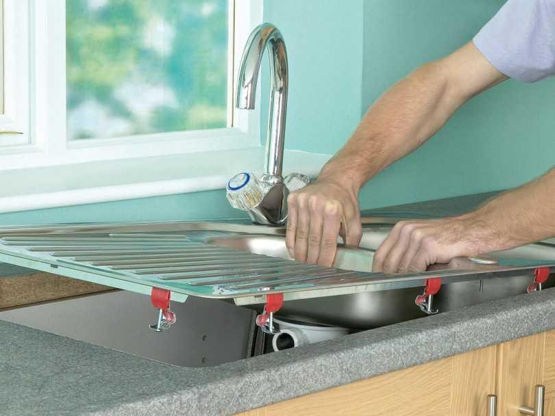 Правила установки кухонной мойки