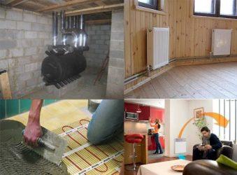 Чем выгоднее отапливать дом. разберем газ, электричество, дрова и уголь