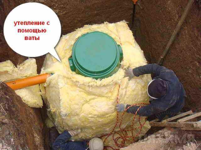 Как утеплить скважину — лучшие способы сохранить воду в зимний период