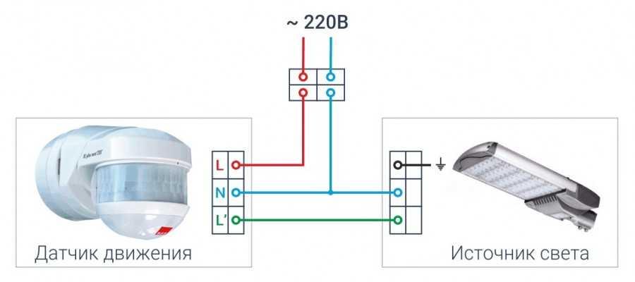 Устройство и схема датчика движения lx-02