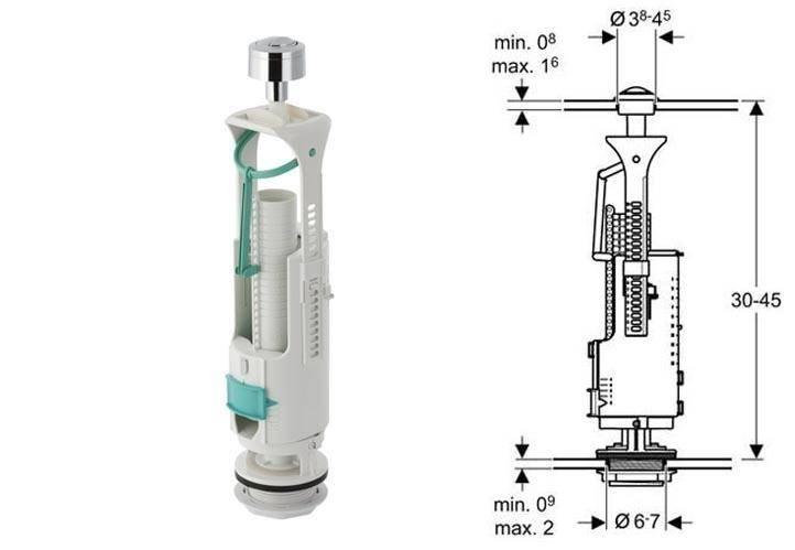 Как правильно выбрать арматуру для унитаза с нижней подводкой?