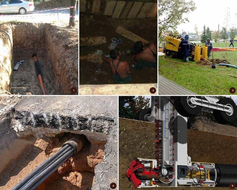 Технология замены трубопроводов методом гидравлического разрушения