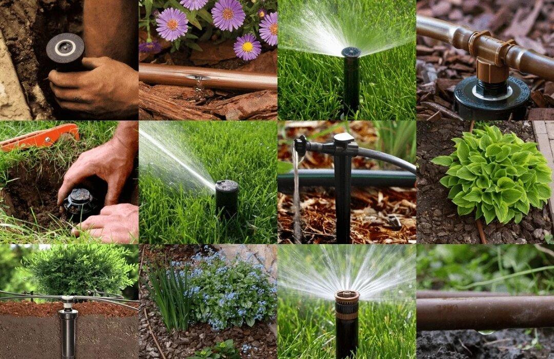 Трубы для полива огорода на даче: выбор и монтаж