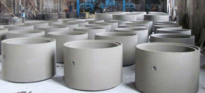 Железобетонные кольца для монтажа колодцев