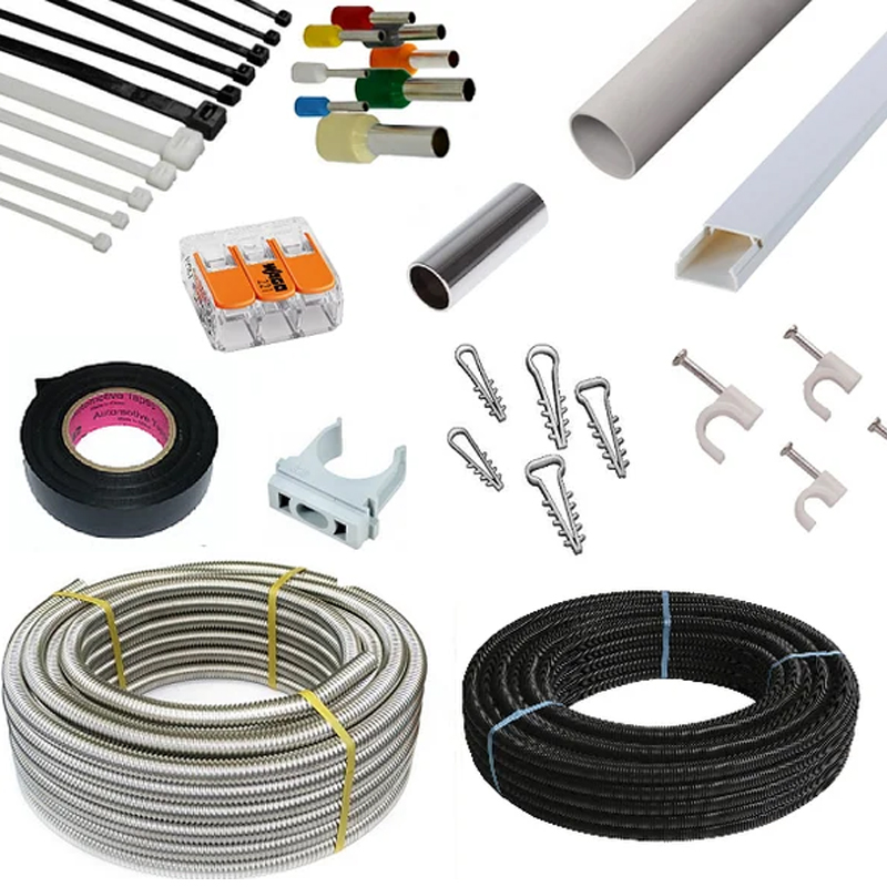 Кабель канал для электропроводки: виды конструкций и их классификация