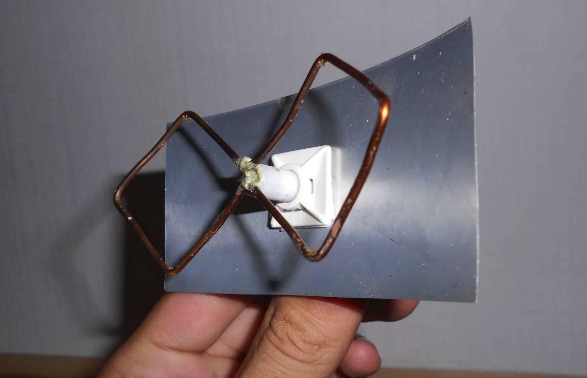 Делаем простую цифровую dvb-t2 антенну из тв-кабеля
