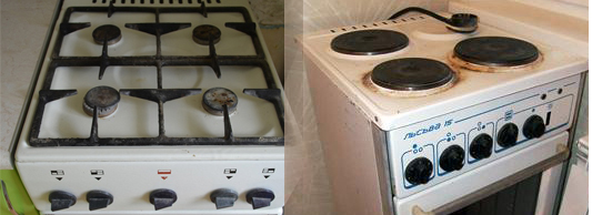 Куда сдать старую газовую плиту?
