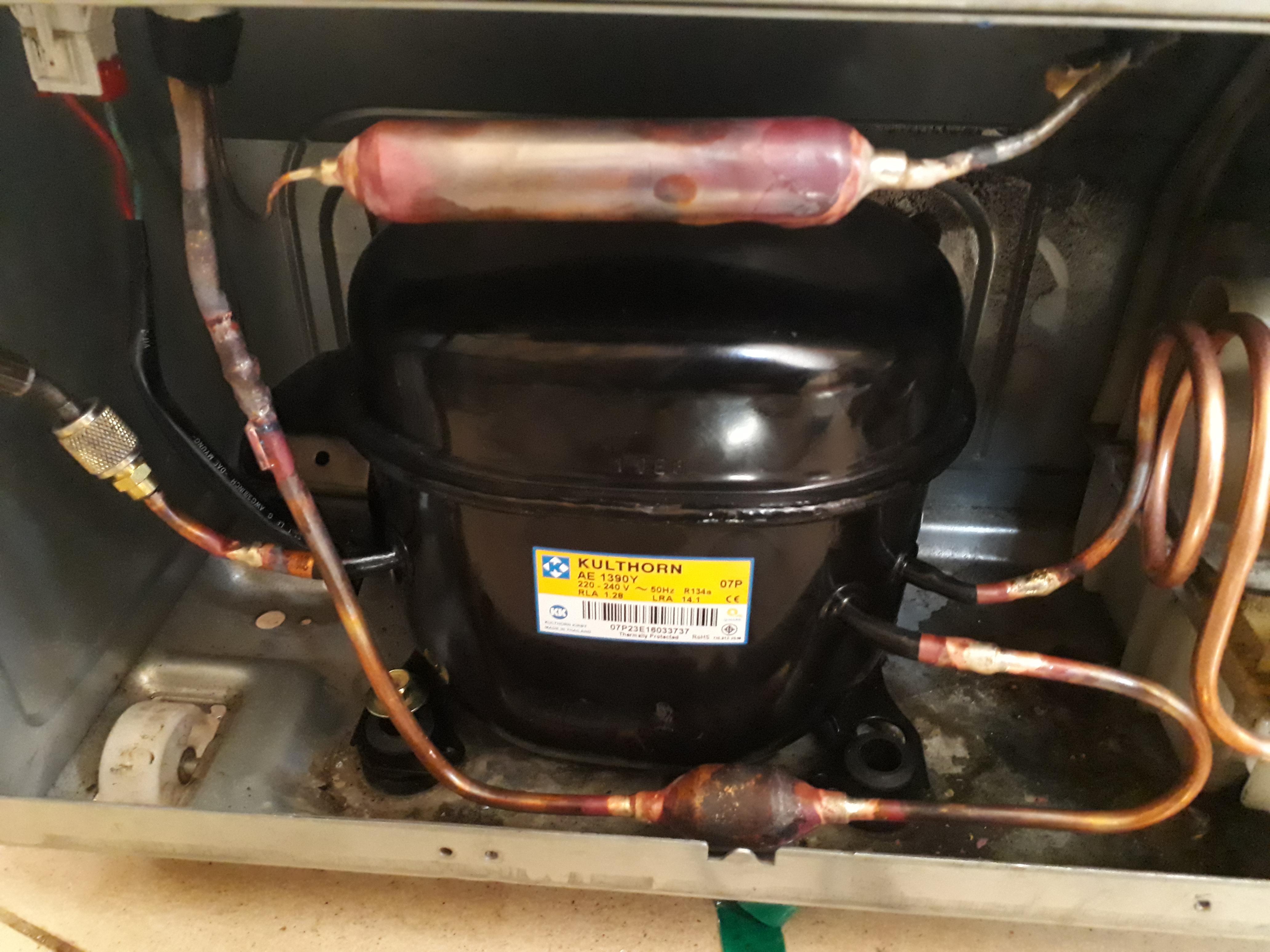 Компрессор для холодильника: обзор частых поломок + пошаговый инструктаж по замене
