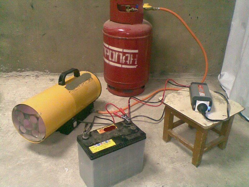 Делаем газовый обогреватель своими руками для гаража