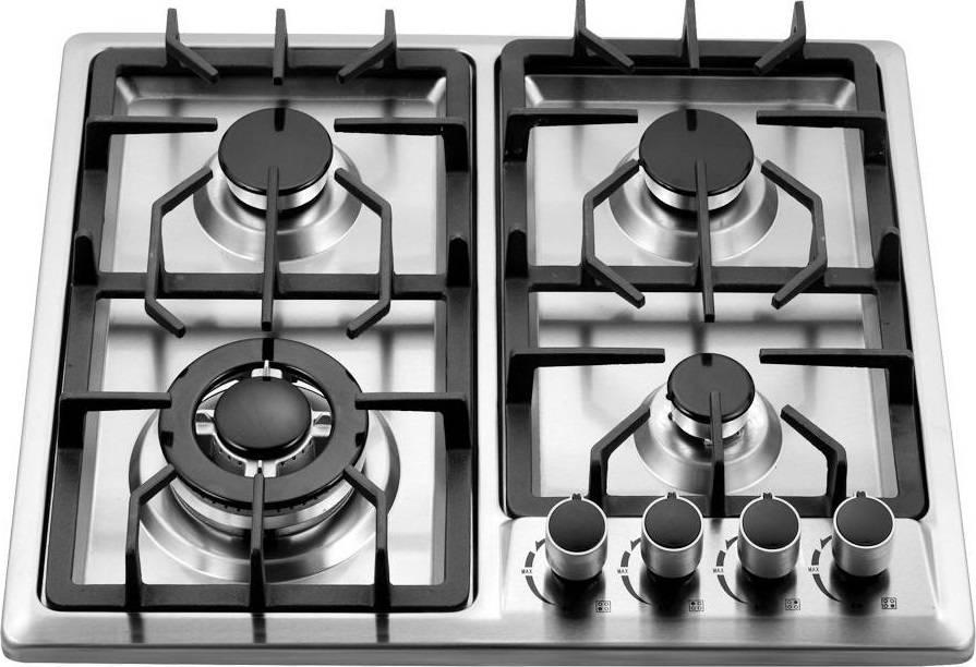 17 лучших газовых варочных панелей