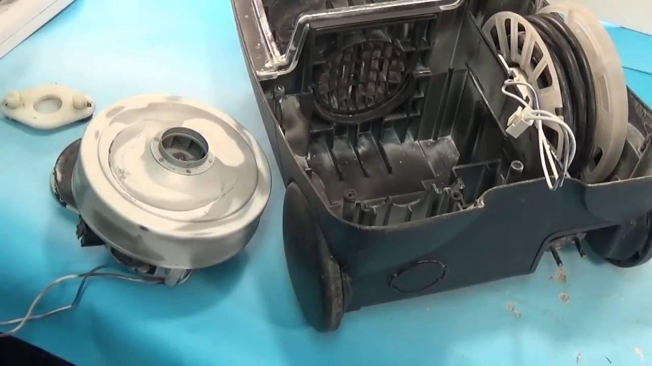 Ремонт пылесоса своими руками: разборка пылесоса, ремонт двигателя
