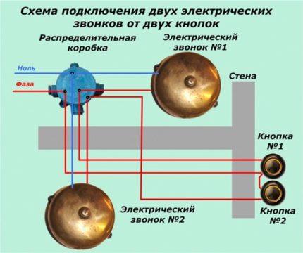 Как собрать беспроводной дверной звонок по принципиальной схеме?