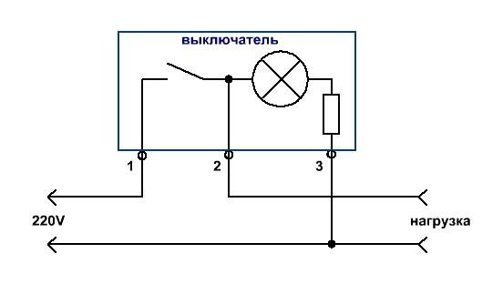 Как подключить светодиодный выключатель — схемы для устройства с подсветкой