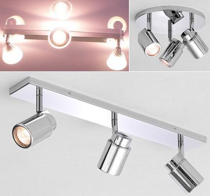 Оптимальный выбор, расположение света в ванной комнате
