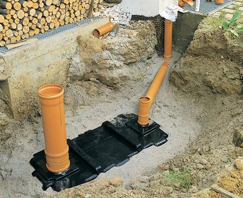 Особенности сооружения канализации на даче своими руками: состав канализации, схема устройства