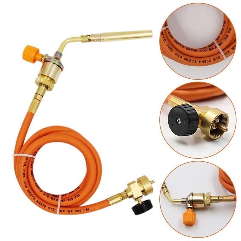 Пайка медных трубок газовой горелкой (инструкция) - zetsila