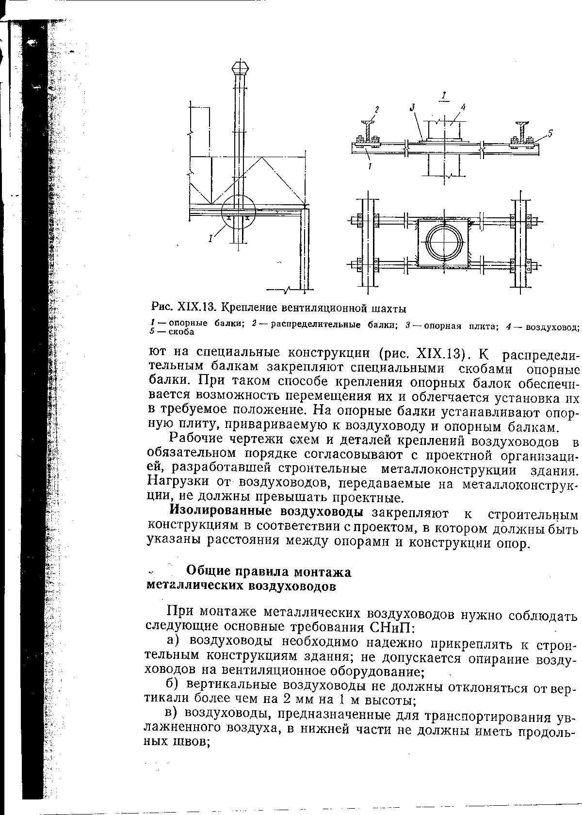 Основные правила монтажа воздуховодов