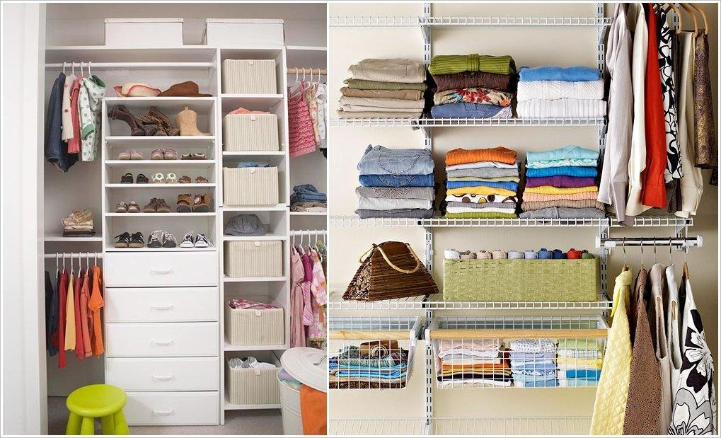 Порядок в шкафу, с чего начать, сортировка, хранение, экономия места