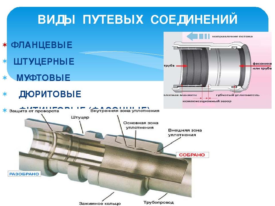 § 2. способы соединения стальных труб
