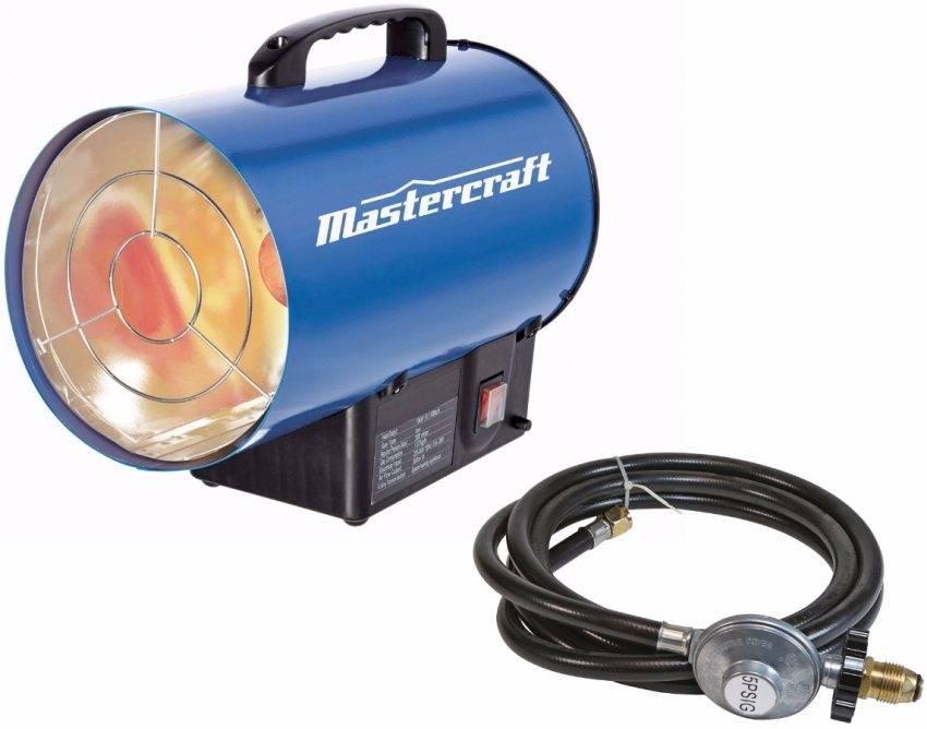 Типы, плюсы и минусы газовых обогревателей для гаража