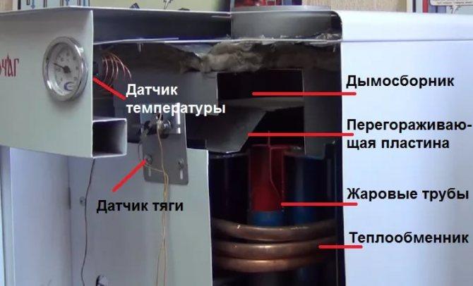 Почему отключается газовый котел лемакс