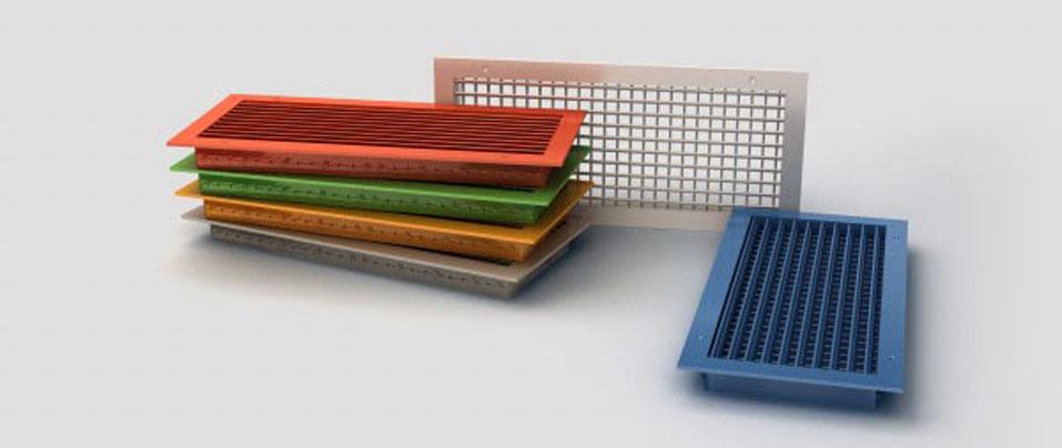 Как выбрать вентиляционные решетки для наружной вентиляции