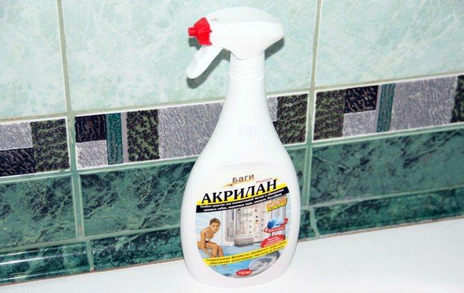 Чем эффективнее всего чистить акриловую ванну в домашних условиях?
