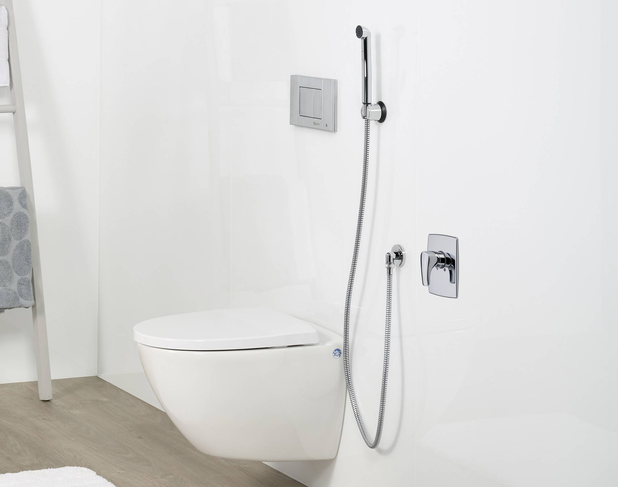 """Как установить гигиенический душ в туалете, и какому виду отдать предпочтение? — журнал """"рутвет"""""""