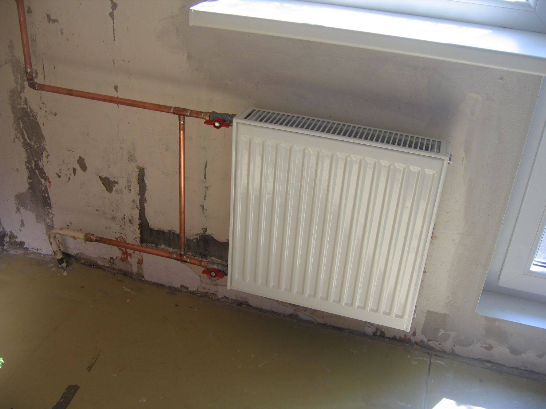 Замена батарей отопления в квартире своими руками, замена стояков