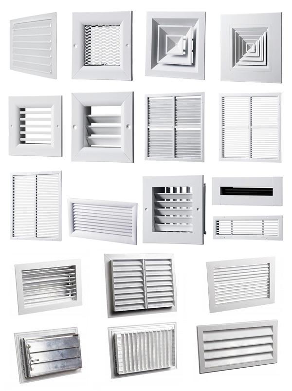 Вентиляционная решетка: устройство, виды и монтаж