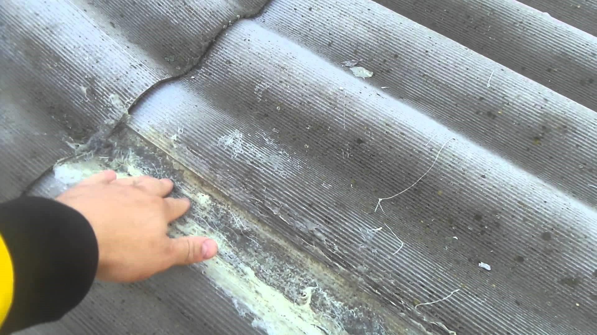 Чем заделать дыры в шифере на крыше быстро и надолго