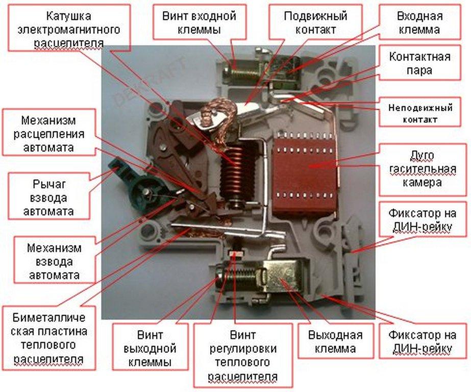 Дифференциальный автоматический выключатель – устройство, принцип действия и область применения дифавтоматов