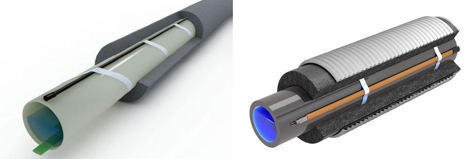 Греющий кабель для канализационных труб: саморегулирующий для утепления и обогрева канализации