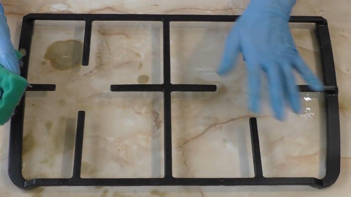 Обзор средств для очистки решетки газовой плиты