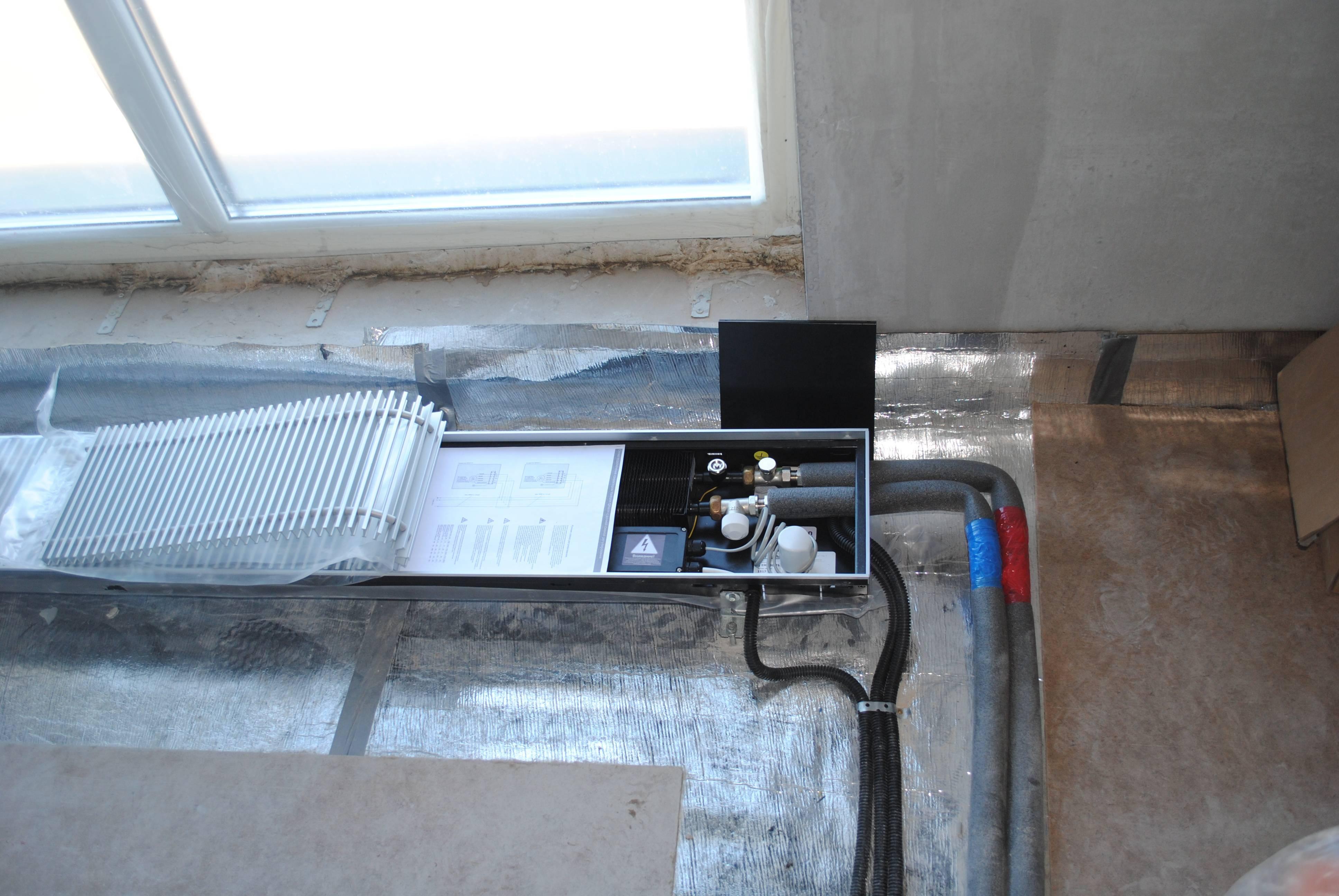 Внутрипольные конвекторы (65 фото): обзор электрических и водных моделей с вентилятором, встраиваемых в пол. «бриз» и eva, kermi, itermic и другие