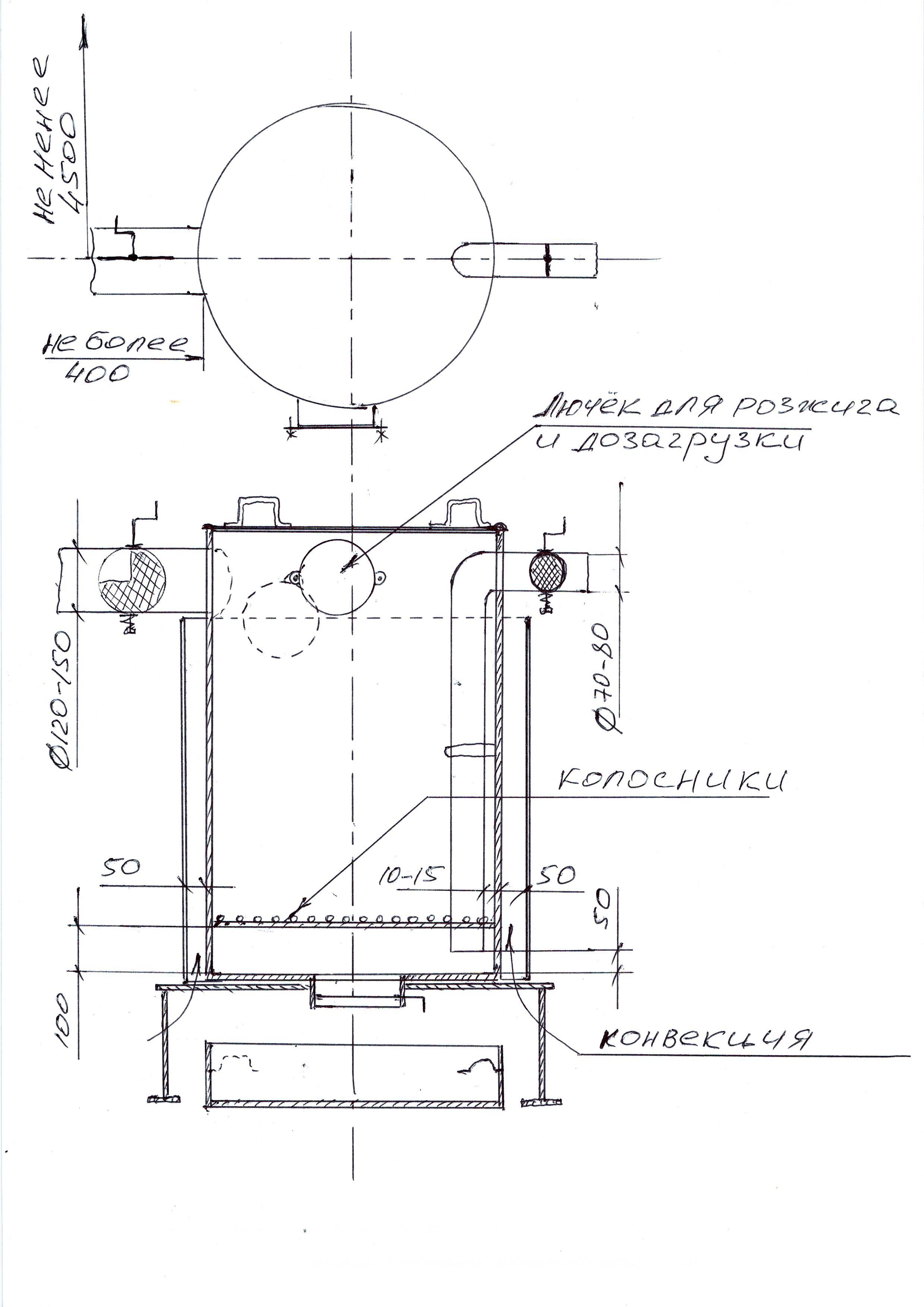Печь бубафоня своими руками: пошаговая инструкция и чертеж