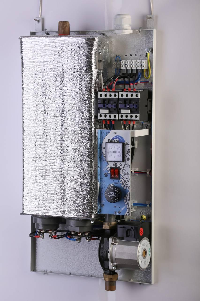 Двухконтурный электрический котел - принцип работы и советы при выборе