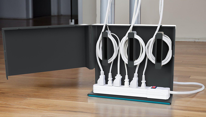 Как спрятать провода от телевизора на стене: 4 дельных идеи