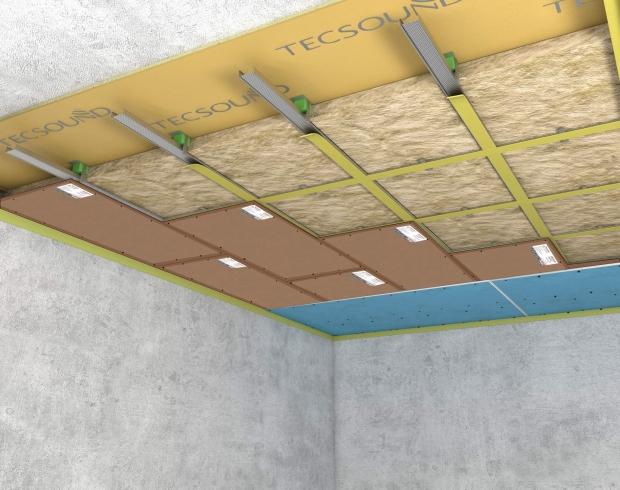 Шумоизоляция(звукоизоляция) потолка в квартире под натяжной потолок