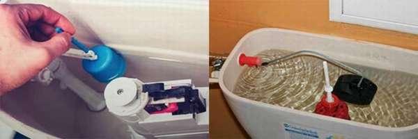 Поплавки для унитазов для сливного бачка - регулировка, ремонт и как установить