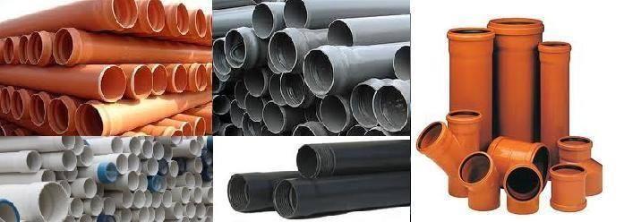 Трубы пвх для наружной канализации — размеры и цены