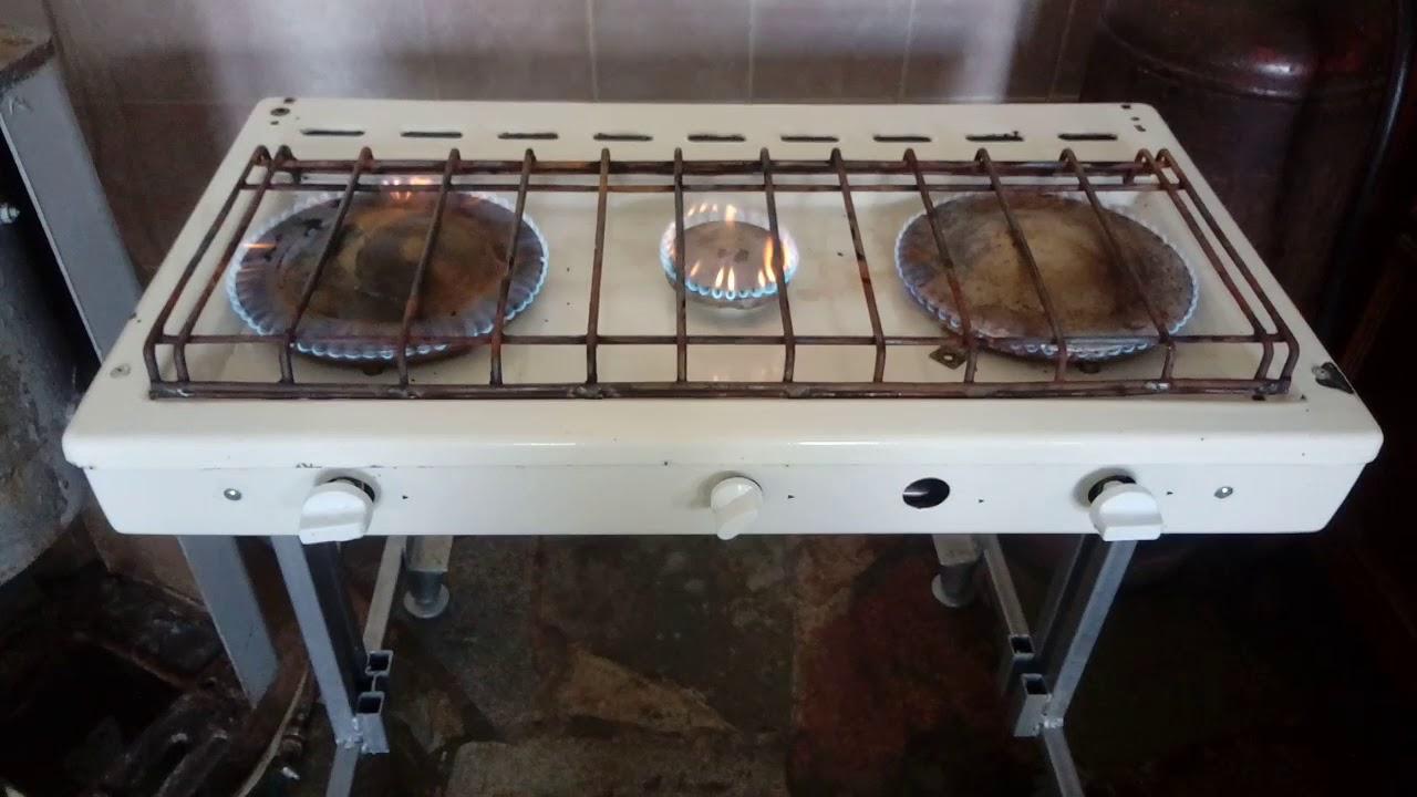 Как сделать газовую плиту своими руками