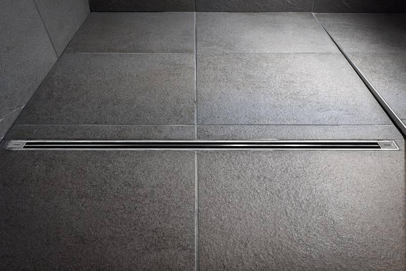 Особенности конструкции трапа для душа в полу под плитку
